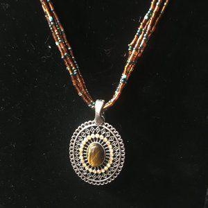 """""""Autumn Sunset"""" Necklace by Premier Designs"""